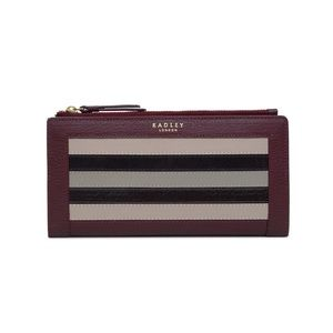 NWT! Radley London Eltham Stripe Leather Wallet